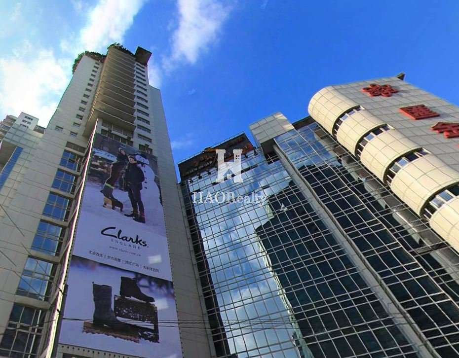 Huijin Plaza Is A 28 Storey Tall Luxury Apartment Building In The Center Of Xujiahui