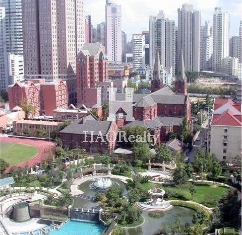 on Hongqiao Road close to Wending Road. It is one of the most popular and well-known apartment communities in Shanghai