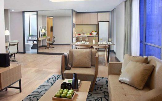 Fraser Residence 2BR Service Apartment Shanghai Xintiandi (1)