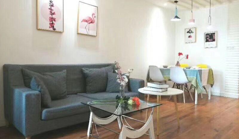 Cozy 1BR Apartment next to Luban Road Metro Line 4 HAO Realty Shanghai HAOMS021857