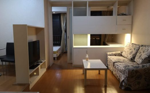 Sunny 1+1BR Apartment w/Floor Heating near Suzhou Creek HAO Realty Shanghai HAOEC018468